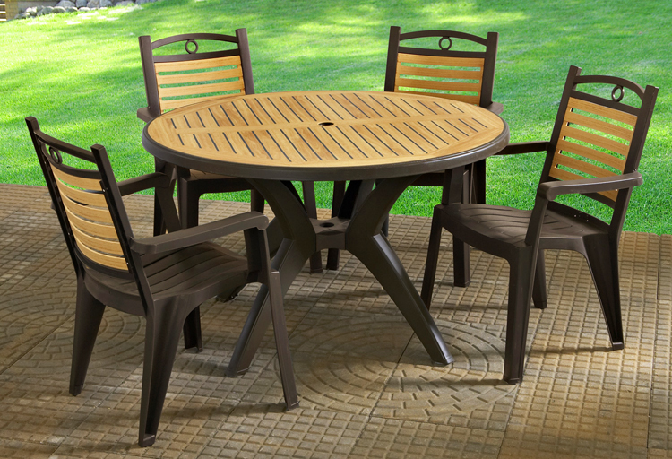 resin patio furniture victoria-dining. winston high back resin dining chair ... LXUAXIK