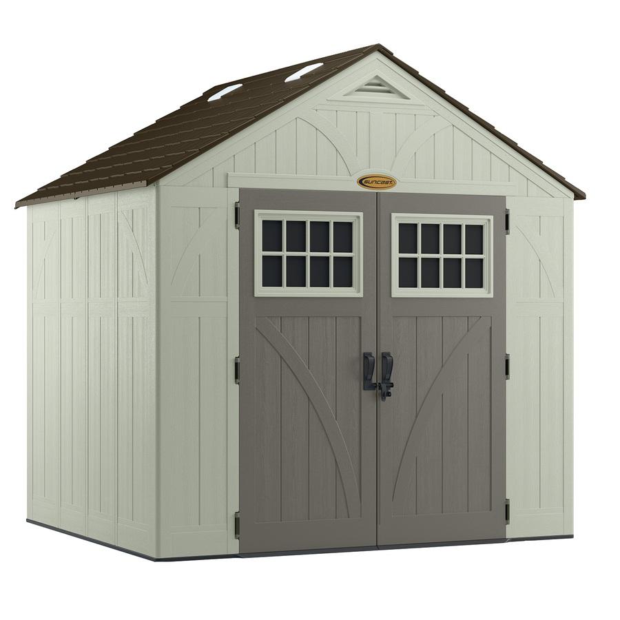 Get Resin storage sheds to store Garden furniture
