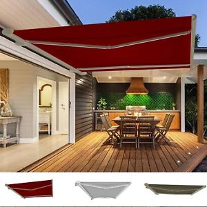 retractable canopy image is loading garden-awning-retractable-canopy -electric-patio-shelter-with- SACJIHE