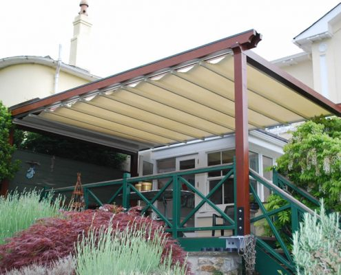 retractable canopy/pergola systems YIULTHW