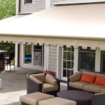 Get Retractable canopy to cover the Patio