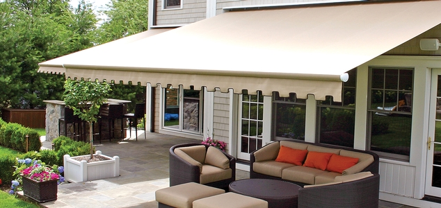retractable canopy retractable awnings g150 series - nuimage awnings KWNQTKY