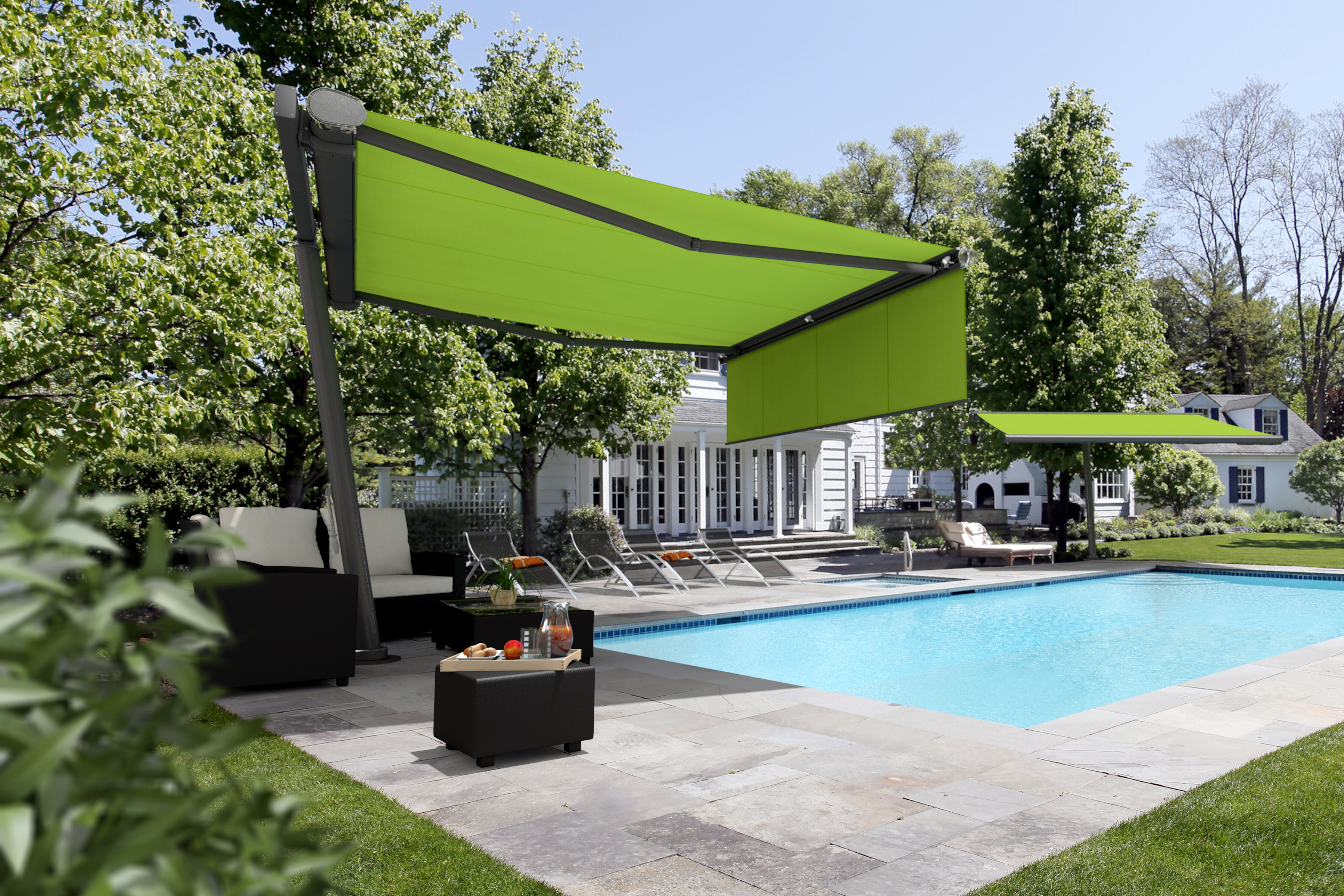 retractable shade sails BUBYISL