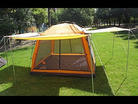 review: hasika 8 x 8 instant screened canopy waterproof(not include outside WTBFPKU