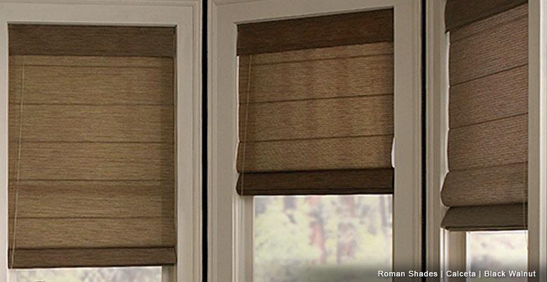 roman curtains ... brown roman shades ... HNGIHQY