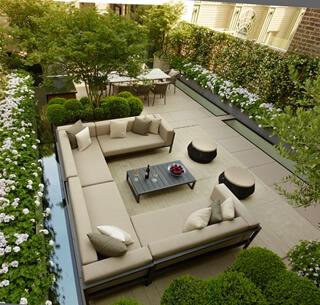roof garden a london roof terrace EEPCQWN