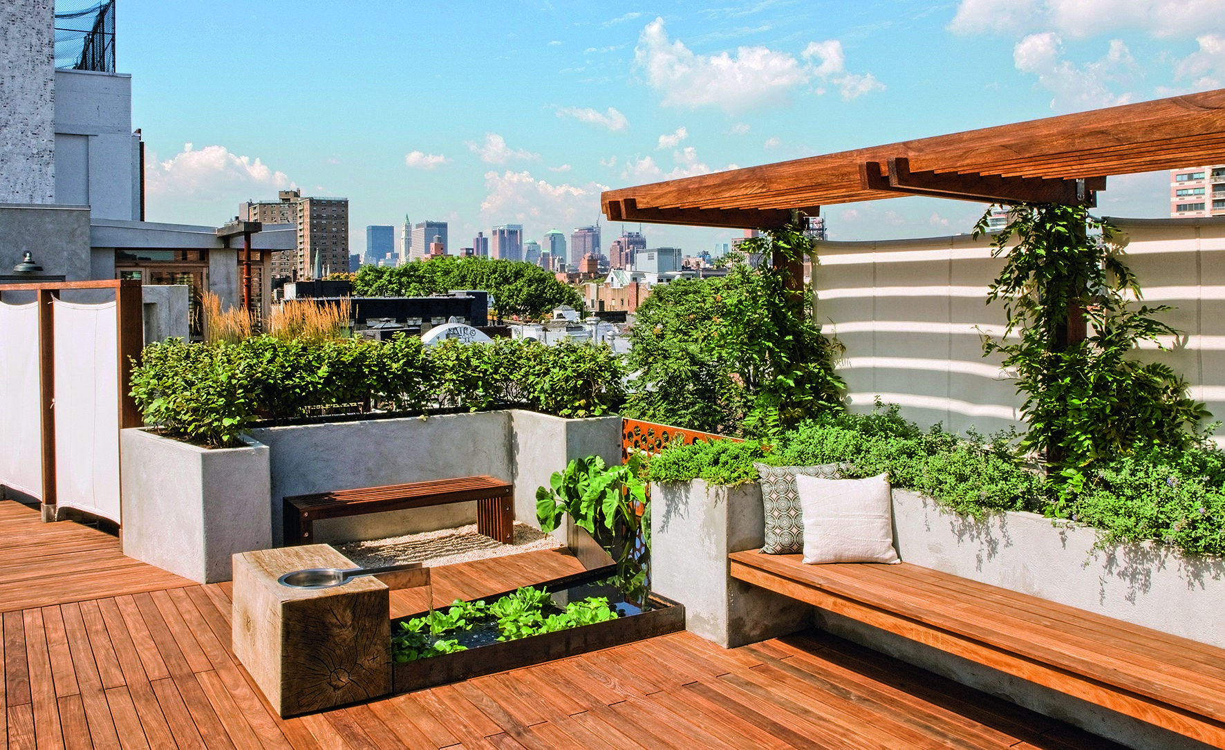 roof garden design 9 remarkable rooftop garden designs around the world photos | architectural LDRPJQT