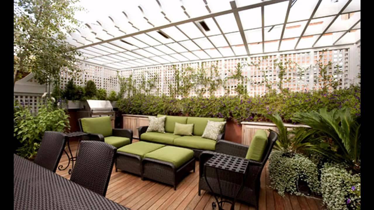 roof garden design creative rooftop garden design ideas - youtube BBJRGFH