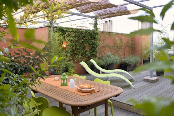 roof garden design italy: green terrace roof garden garden design calimesa, ca CVVAWTX