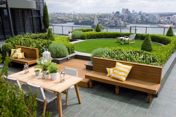 roof garden design roof garden increase real estate value GBYWRLH