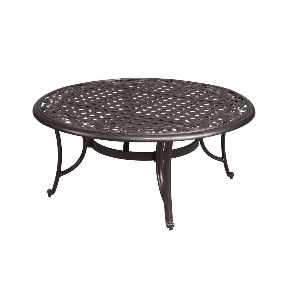 round patio coffee table PEEDQJQ