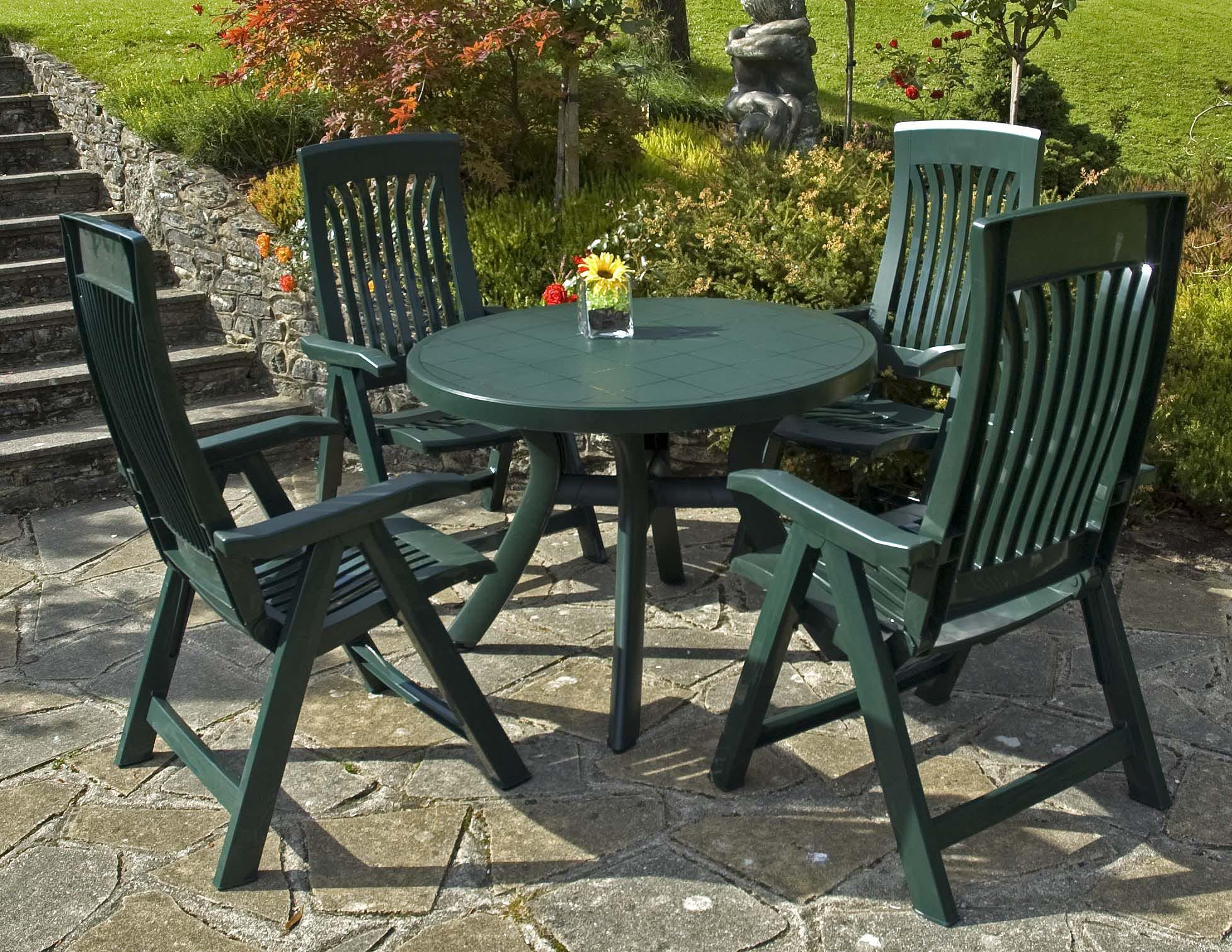 round table patio furniture sets luxury plastic patio