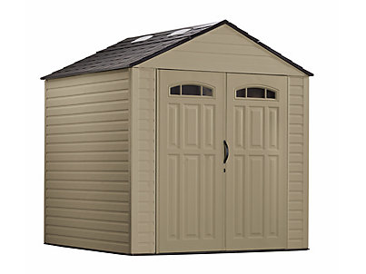 rubbermaid sheds roughneck® x-large storage shed - 7ft x 7ft- discontinued | rubbermaid VYUZASL