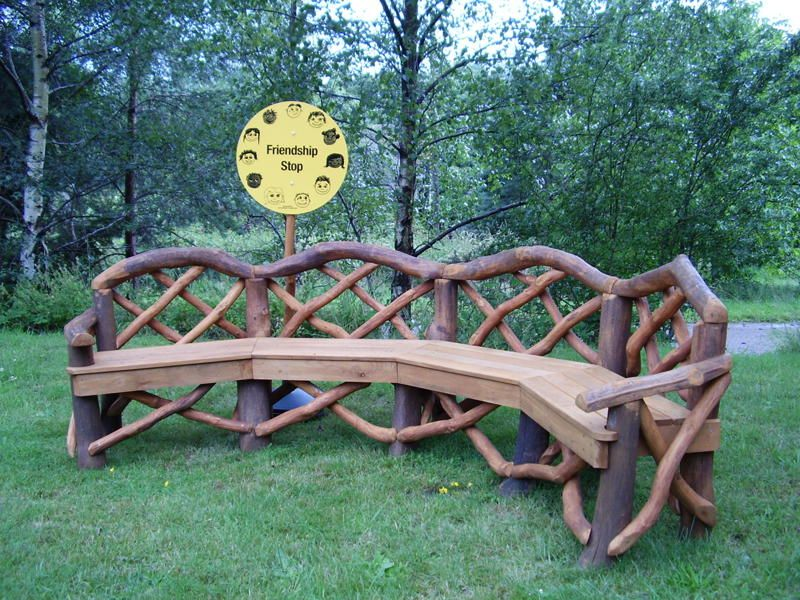 rustic outdoor furniture | coppice creations - rustic garden furniture and MFYZARB