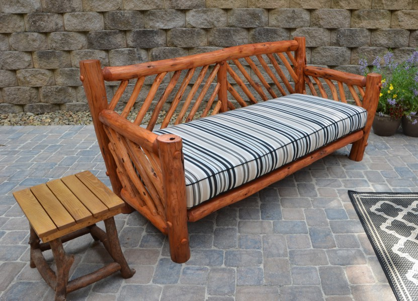 rustic outdoor furniture cushions NLYLGCU