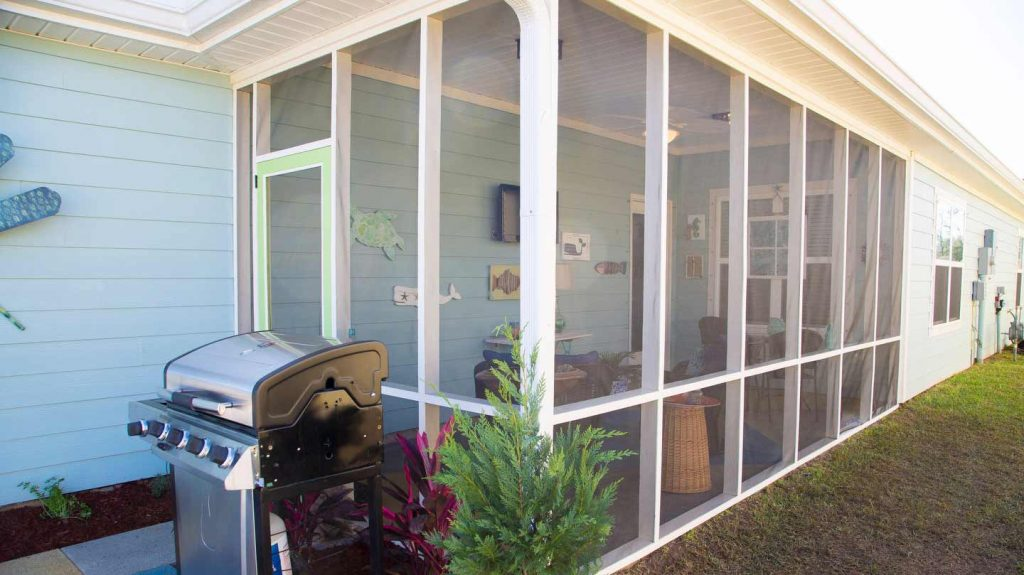 screen porch how to screen in an existing porch | todayu0027s homeowner CSBVDBC