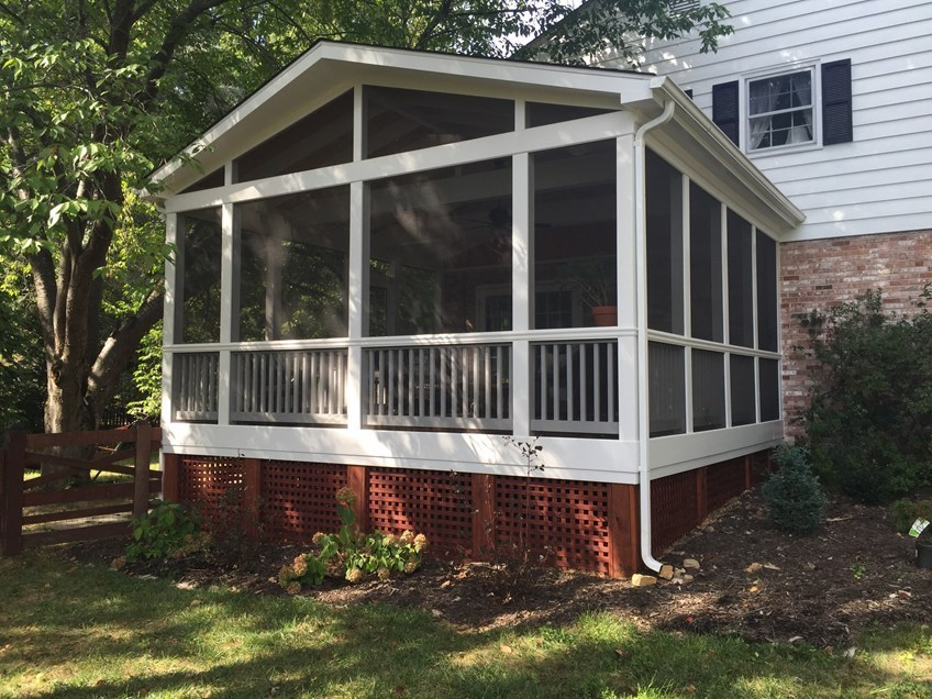 Explore the Functionality of a Porch by Building a Screen Porch for your home