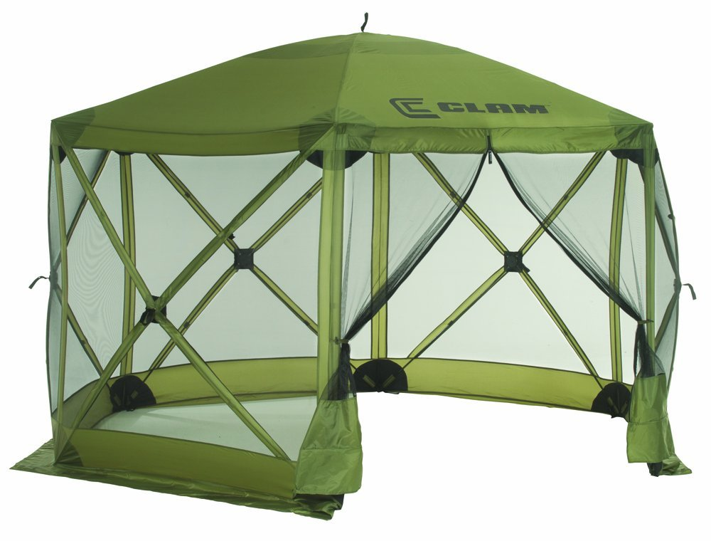 screened canopy 3. clam corporation quick set escape shelter WHPXDZT