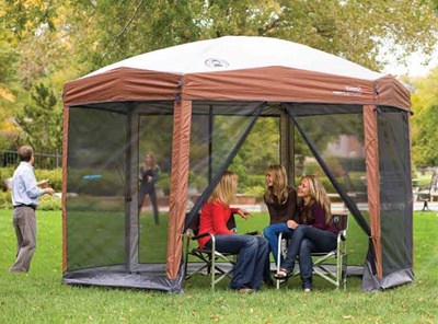screened canopy coleman-foldable-screen-canopy OVDBSGJ