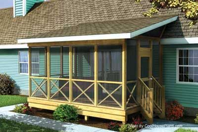 screened in porch ideas front porch website. lots of pictures and tools for building a porch. GZKPEAL