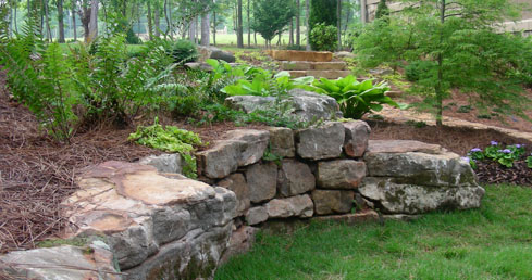see how landscaping rocks offer a timeless elegance