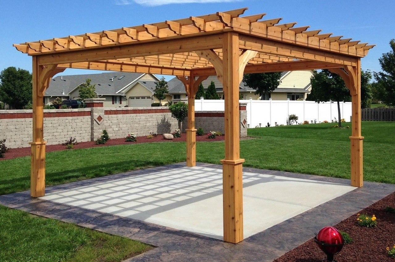 How to build a Cedar pergola