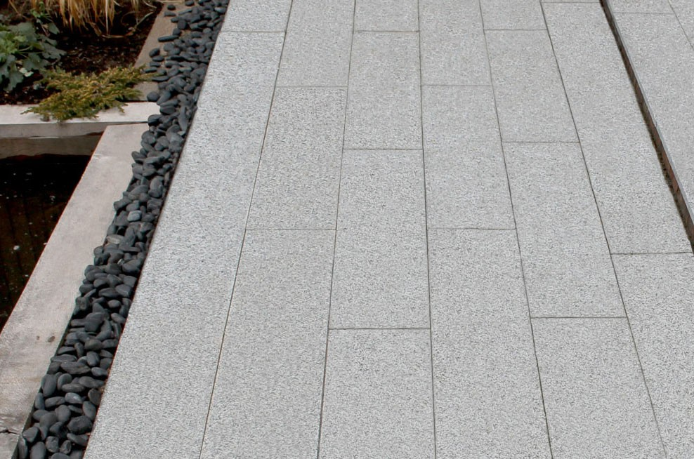 sesame white granite pavers EHUMQDA