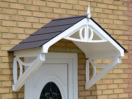 shaftesbury storm porch canopy (grey roof) UVJKFUZ