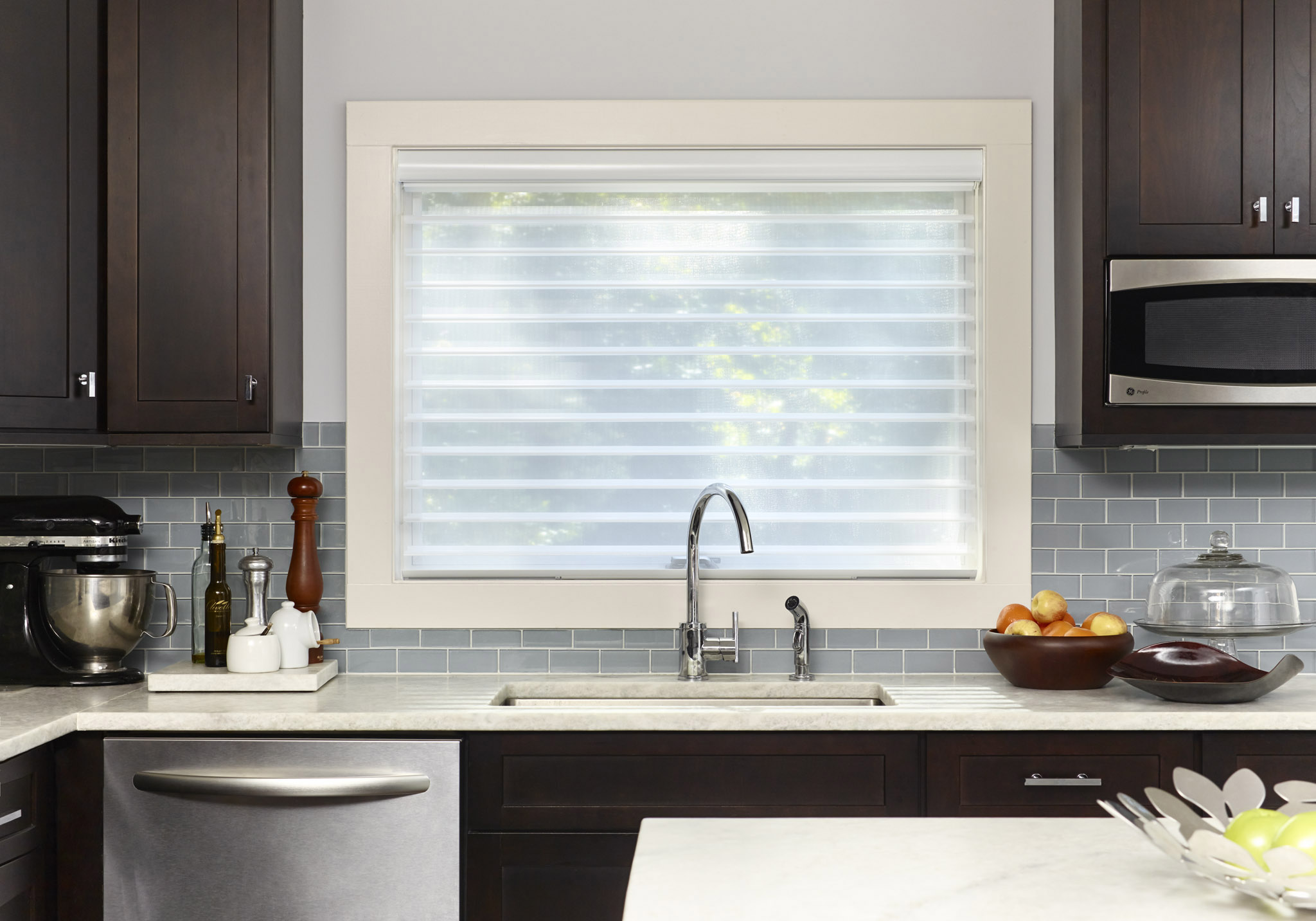 sheer blinds sheer shades - shades - the home depot ZSQKRRK