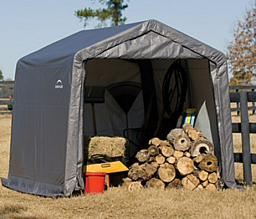 shelterlogic 70333 portable shed PZJVZYM