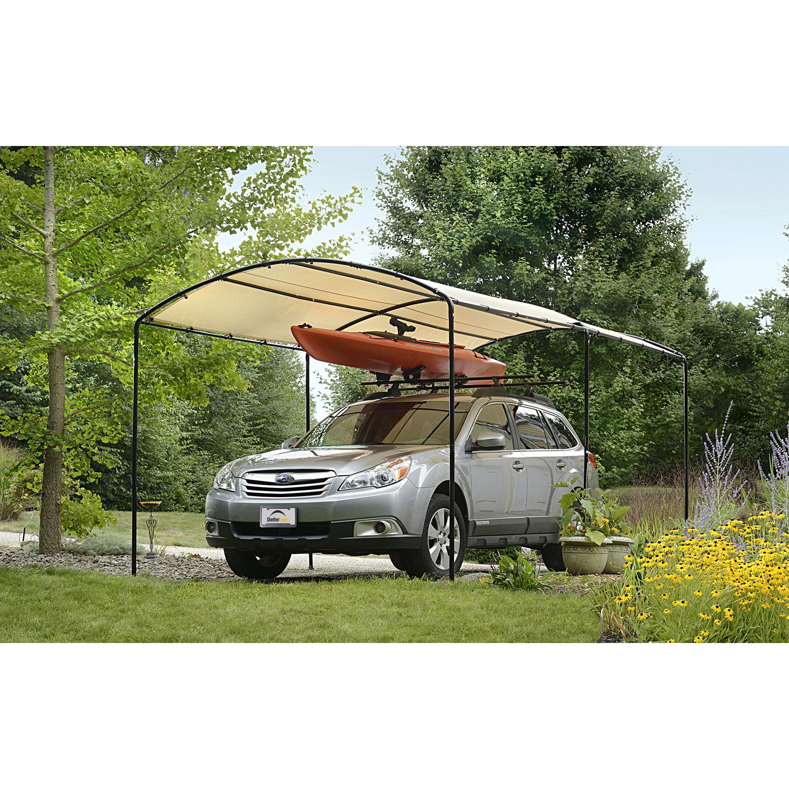 shelterlogic monarc car canopy LDOBRGH