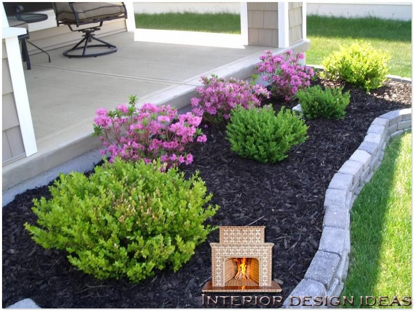 simple garden ideas easy landscaping ideas for front of house GLAWGZA