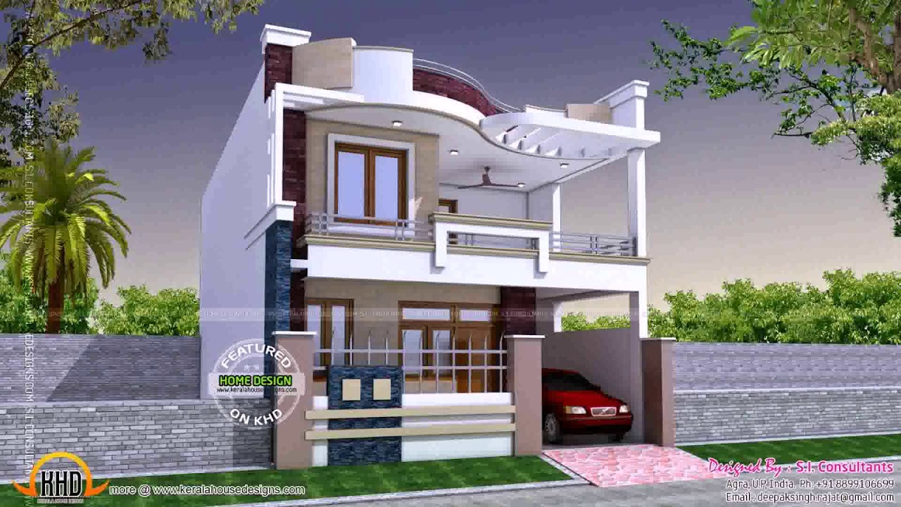 Simple indian house front design lfudbho