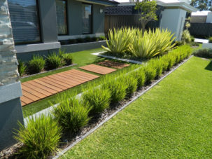 simple landscaping ideas front-yard-landscape (1) QIWHWDJ