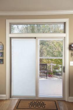 sliding door blinds patio doors with built-in blinds