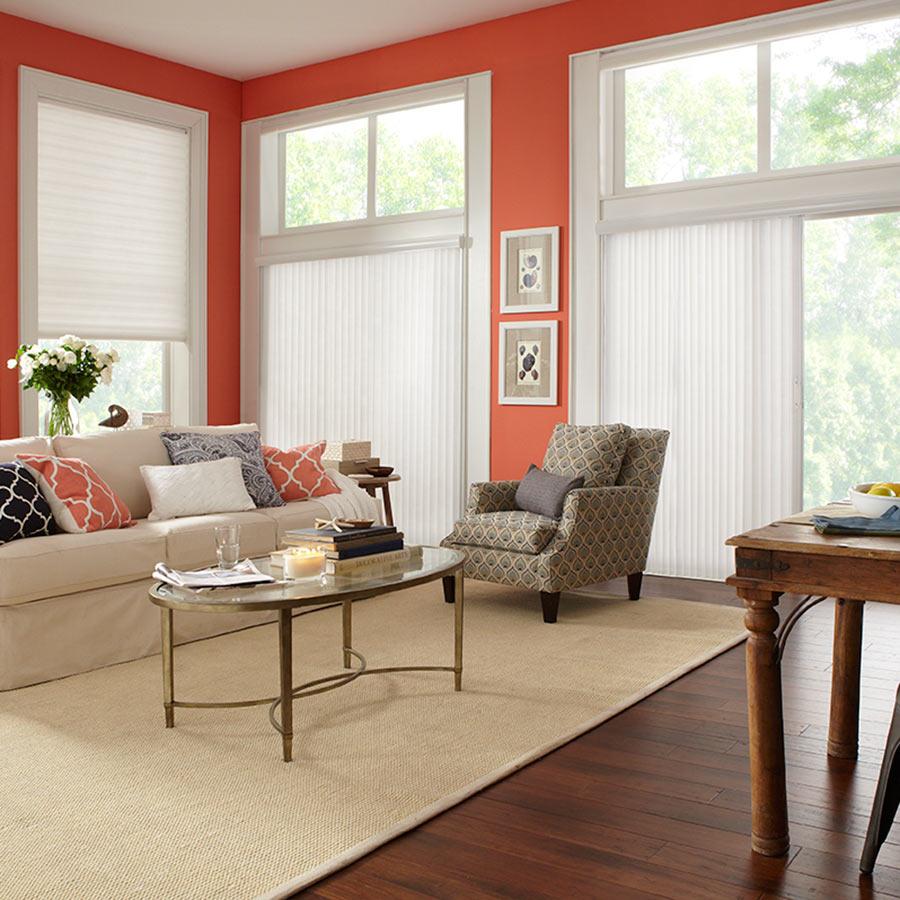 sliding door window treatments premier 2 light filtering vertical blinds IZLSRQL