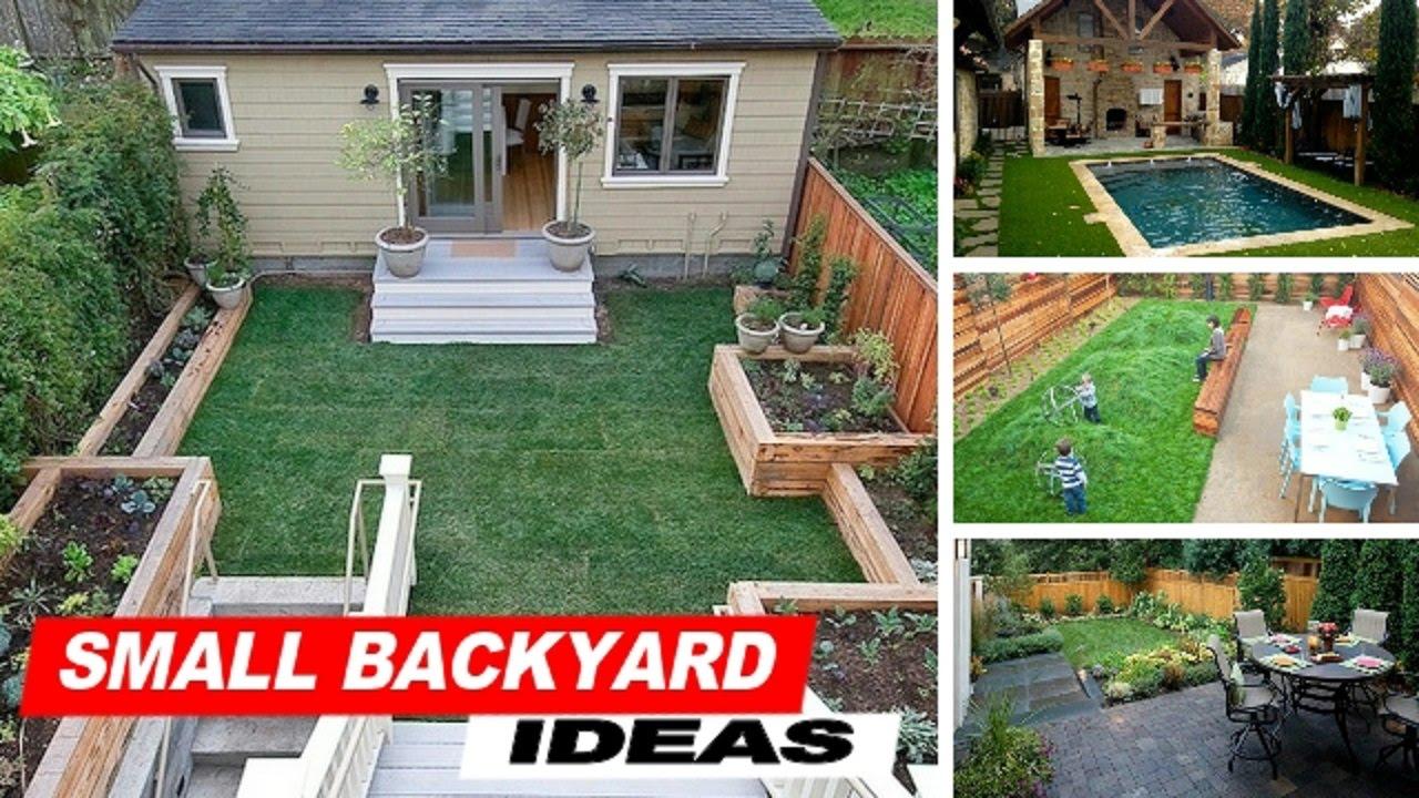 small backyard ideas with grass EHLVVJR