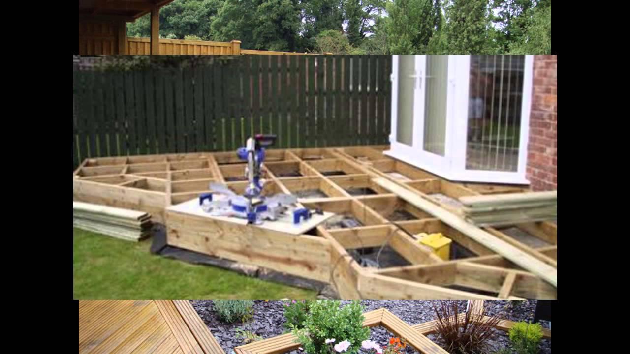 small garden decking ideas KCDQXWL