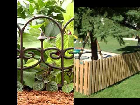 small garden fence ideas LTAECGX