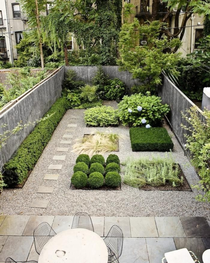 small garden ideas designer susan welti of foras studio organized this compact brooklyn garden PSLKLNY