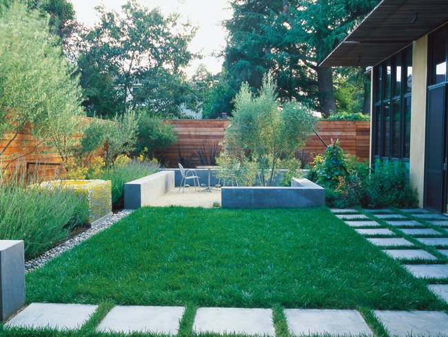 small garden ideas minimalist garden, small lawn small garden pictures bernard trianor +  associates SDULFIZ