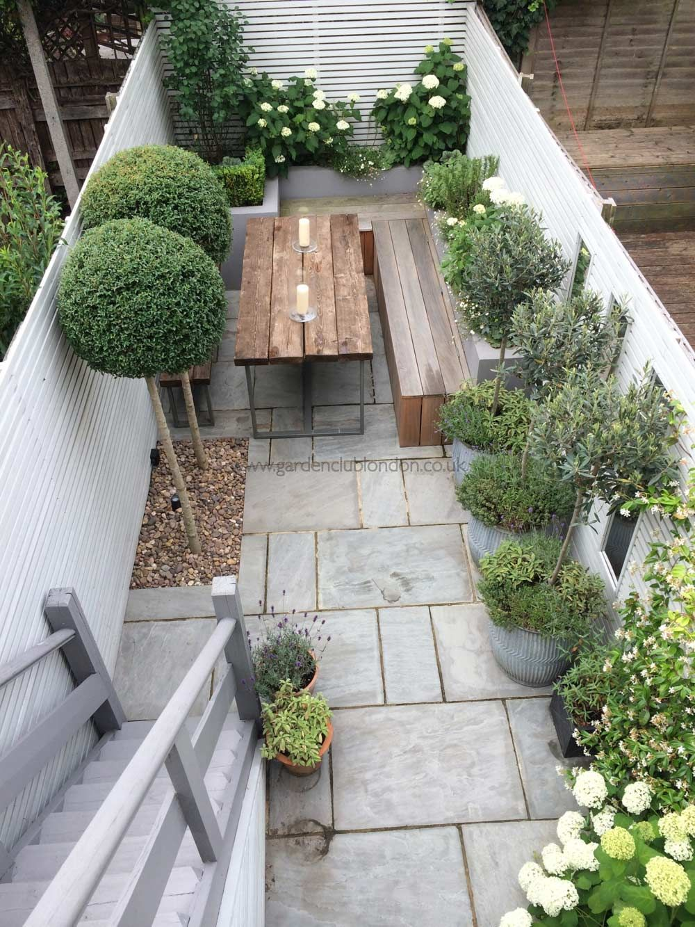 small garden ideas slim rear contemporary garden design london YUJQXVQ