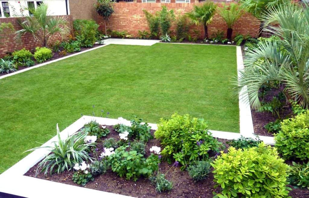 small garden ideas with edging PBADOPG