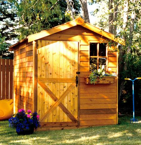 small garden shed cedarshed gardener shed kit; small garden storage shed ... HZSEOSF
