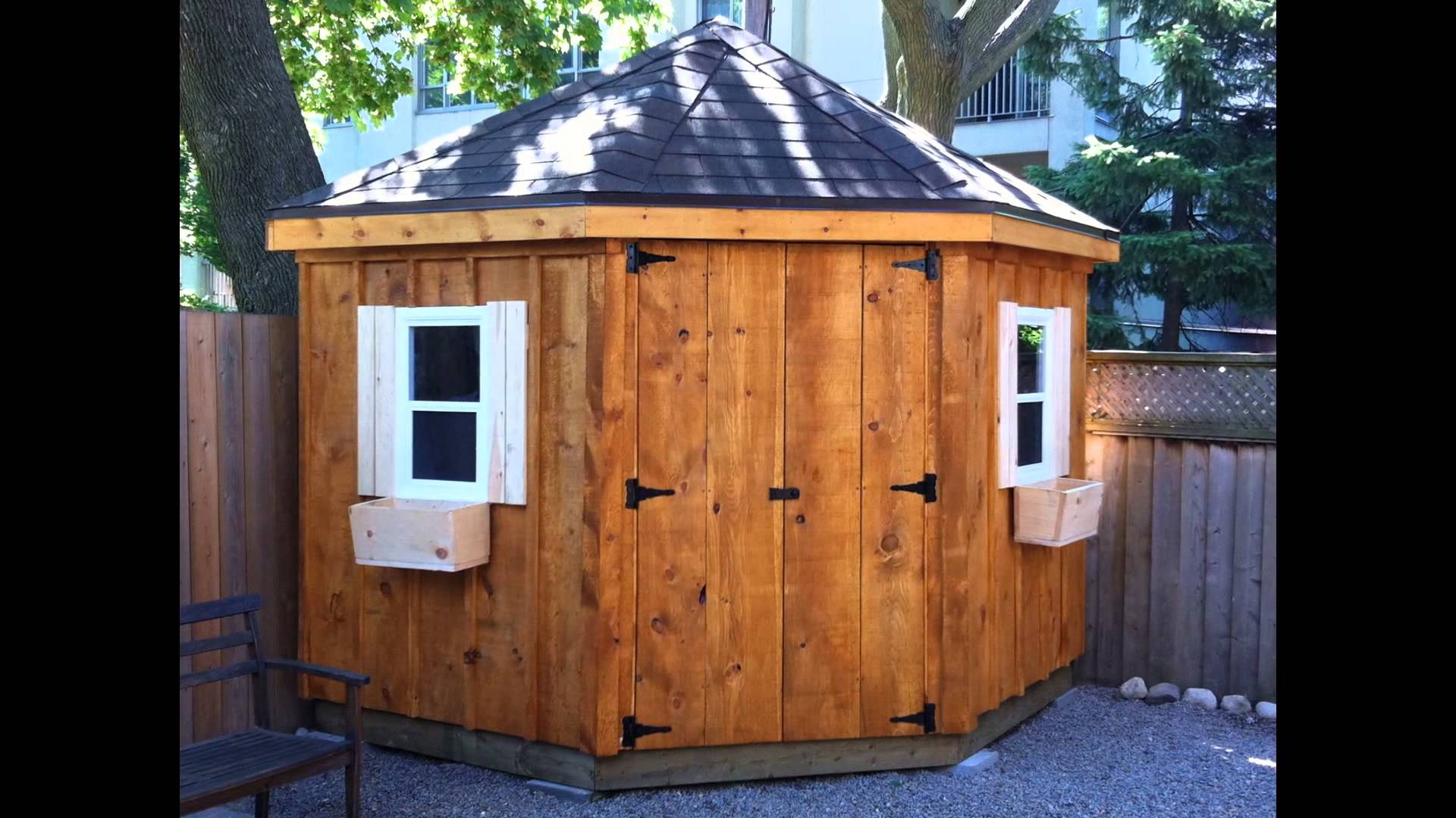 small garden shed IGVKZDC