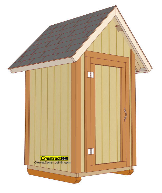 small garden shed plans, pdf download. OXSSHSY