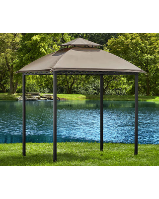 small gazebo wilson u0026 fisher- pinehurst small space grill gazebo- (8u0027 x 5u0027 PTPEVGA