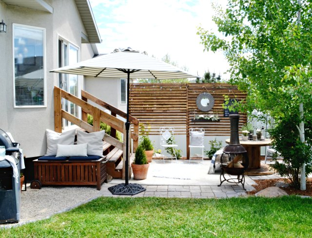 small patio ideas budget patio ideas myfabulesslife.com ETOHUWS