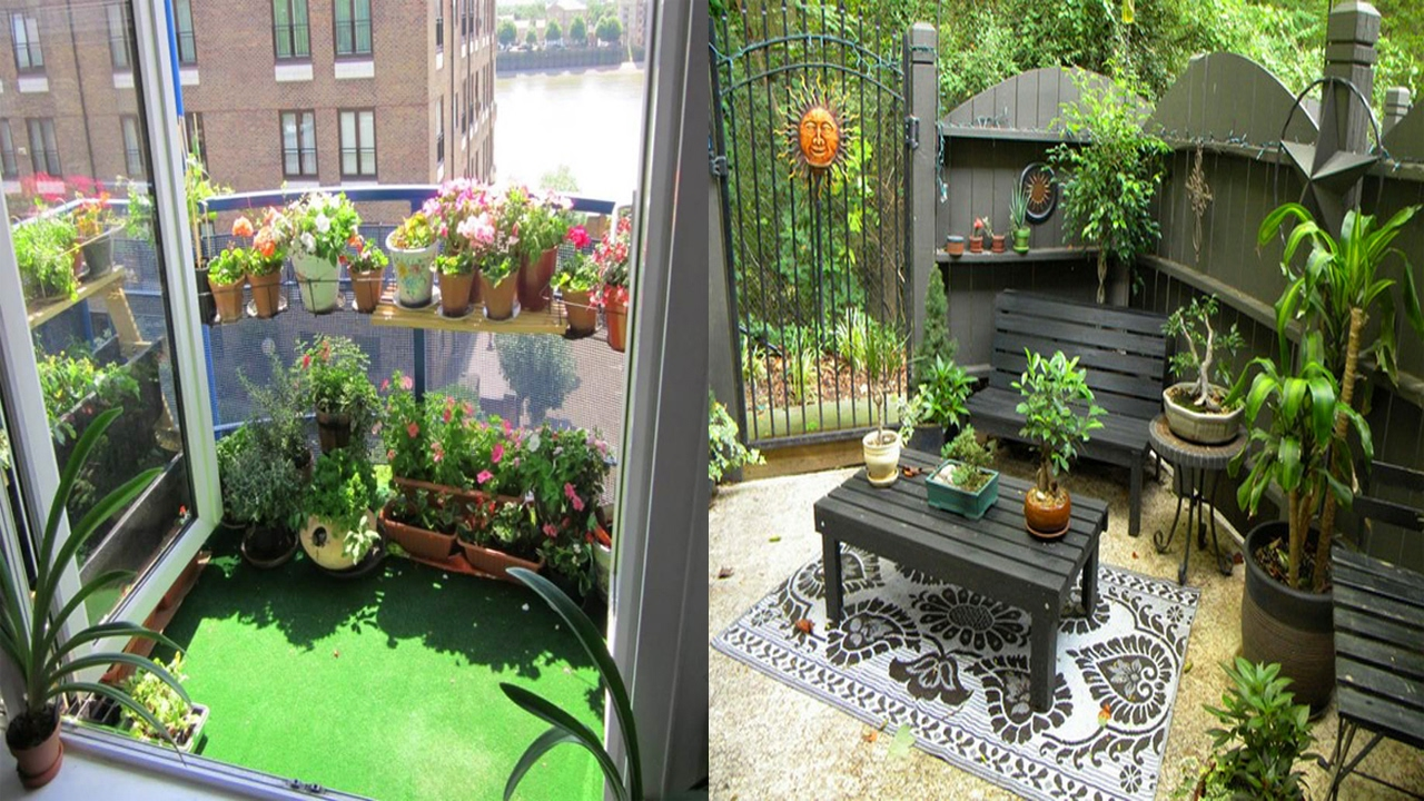 small patio ideas very small patio decorating ideas-small apartment patio ideas - youtube BMJWGBS