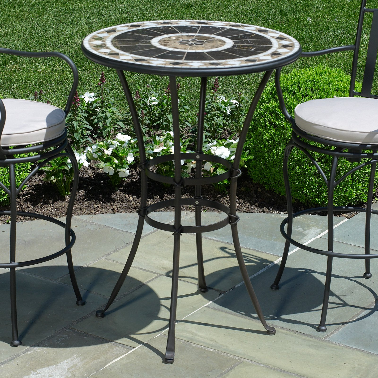 small patio table small round patio table and chairs target outdoor furniture VIAEZIN